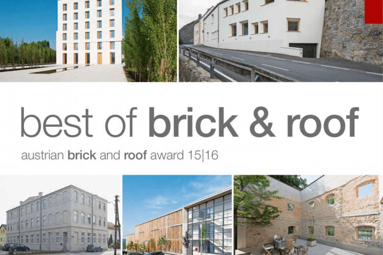 best of brick & roof - austrian brick and roof award 15/16